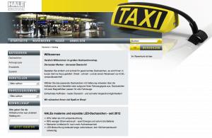 Dachzeichen,taxibeschilderung,taxi-schilder,essen steele,taxi steele